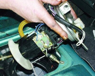 Замена системы очистки дизеля/бензина