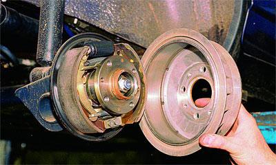 Замена передних и задних (барабан, дисковые) тормозных колодок